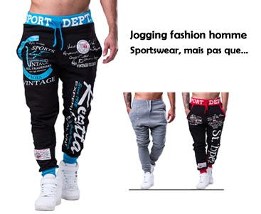 le jogging homme fashion pas seulement sportswear mode homme. Black Bedroom Furniture Sets. Home Design Ideas