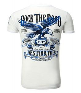 135 t-shirt blanc homme rerock dos