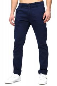 pantalon chino homme marine