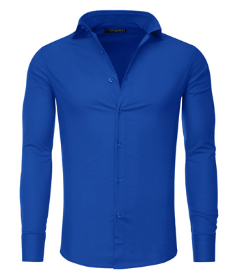 chemise bleu fashion homme