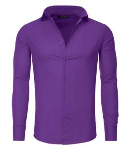 chemise homme tazzio violet