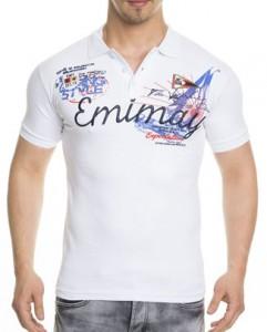 1317 polo fashion homme emimay blanc