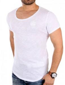 1944 tee shirt fashion oversize homme blanc