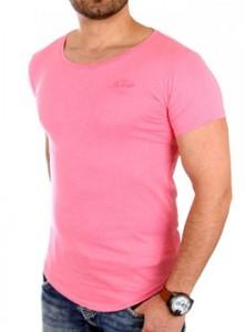 1944 tee shirt fashion oversize homme rose