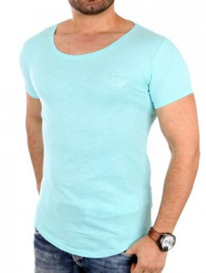 1944 tee shirt fashion oversize homme vert avant