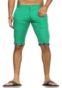 3302 bermuda homme fashion vert avant