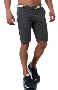 3653 bermuda fashion homme gris fonce avant