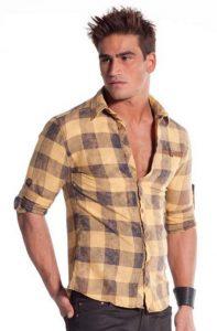 look rentrée mode homme chemise