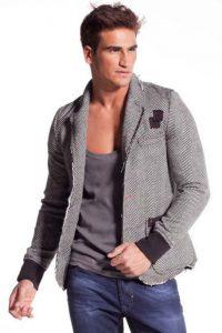look rentrée mode homme veste