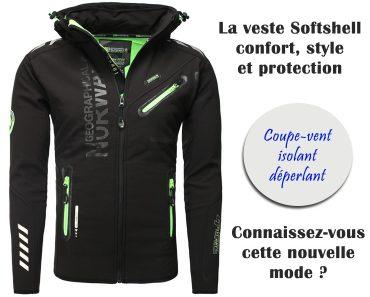 veste softshell mode pour homme