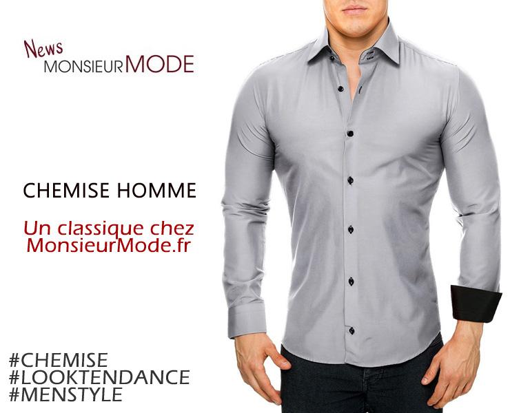 ChezTendance Et Mode Homme Chic La Chemise K1J35lcTFu