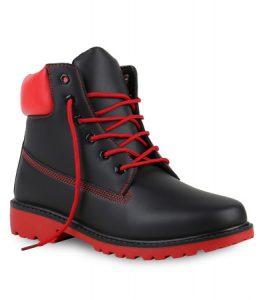28-bottines-hiver-tendance-pour-homme-noir-et-rouge-cote