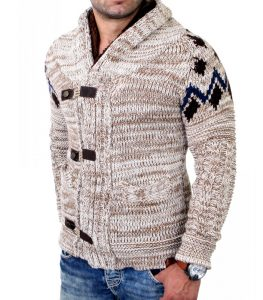421-cardigan-fashion-homme-a-maille-beige