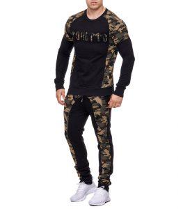 724-ensemble-jogging-camouflage-pour-homme-noir-et-vert-1