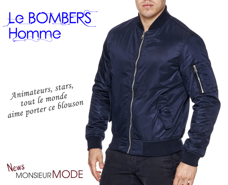 8886fe9b705 Le bombers pour homme