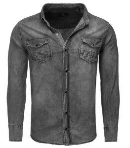 Chemise jean noire