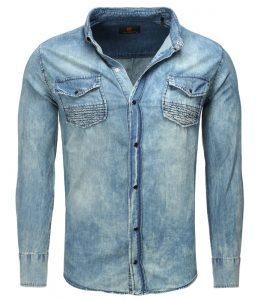 Chemise en jean pour homme