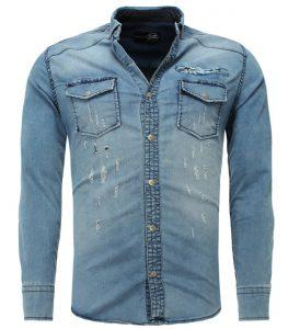 Chemise en jean mode homme