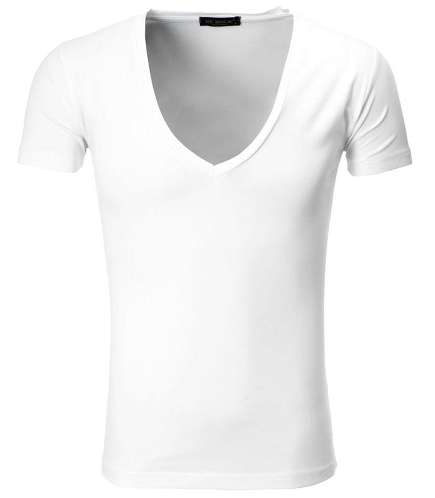 tee shirt col v homme basique et toujours tendance mode homme. Black Bedroom Furniture Sets. Home Design Ideas