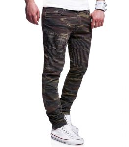 jean fashion mode homme camouflage