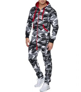 combi camouflage fashion pour homme